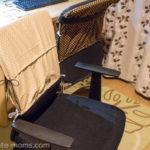 縫い物初心者がミシンを使い始めて。椅子カバーをつくってみました