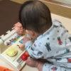 生後7ヶ月[30週目]:足の爪が割れる。激しく足を床に打ち付けてますよ!?