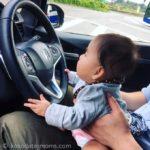 生後5ヶ月[25週目]:車での長距離移動。長野県南信の友人宅へ