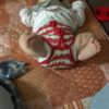生後8ヶ月[38週目]:ズリバイで少しお尻が浮くようになってきた